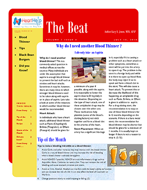 the beat july 2018
